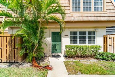 Palm Beach Gardens Townhouse For Sale: 11697 Ficus Street #C