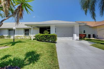 West Palm Beach Single Family Home For Sale: 5263 Crystal Anne Drive