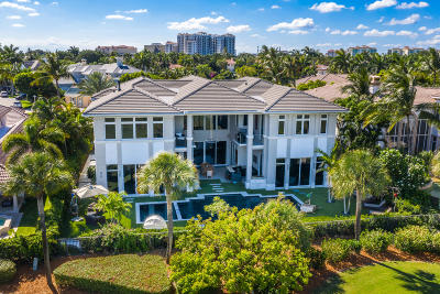 Royal Palm Yacht & Cc, Royal Palm Yacht & Country Club, Royal Palm Yacht And Country Club, Royal Palm Yacht And Country Club Sub In Pb 26 Pgs, Royal Palm Yacht And Country Club Subdivision Single Family Home For Sale: 1300 Sabal Palm Drive