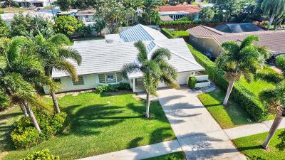 Boca Raton Single Family Home For Sale: 800 W Camino Real