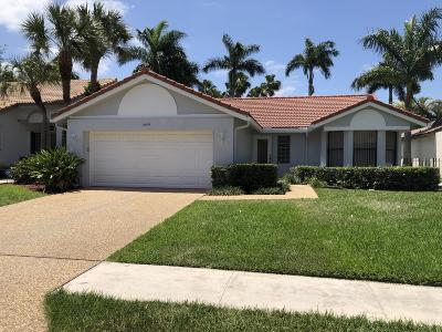 Boca Raton Single Family Home For Sale: 10609 Mendocino Lane