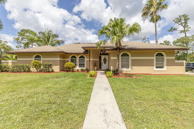 Jupiter Single Family Home For Sale: 17733 118th Trail