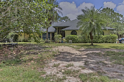 Jupiter Single Family Home For Sale: 11371 150th Court