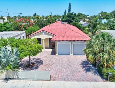 Lake Worth Single Family Home For Sale: 810 S K Street