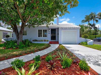 Lake Worth Single Family Home For Sale: 1029 Palmway