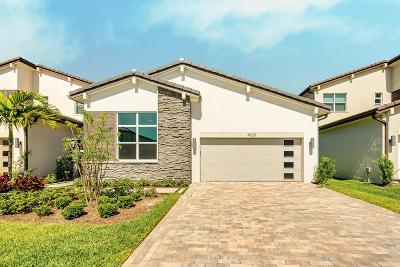 Lake Worth Single Family Home For Sale: 4833 Marston Lane