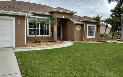 Port Saint Lucie Single Family Home For Sale: 2867 SE Buccaneer Circle