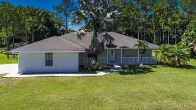 Royal Palm Beach Single Family Home Contingent: 13132 54th Lane