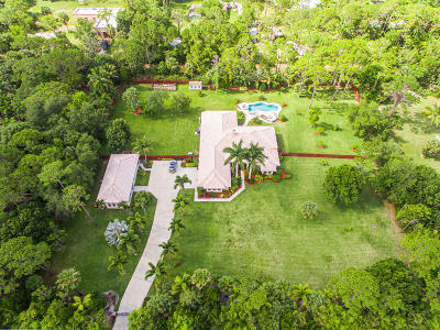 Jupiter Single Family Home For Sale: 11600 Sandy Run