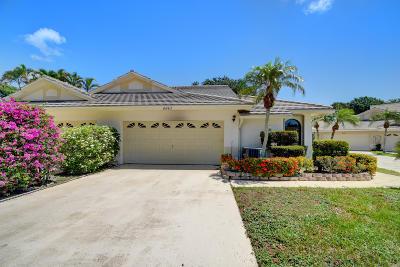 Boynton Beach Single Family Home For Sale: 4843 Brighton Lakes Boulevard