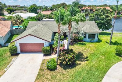 Boynton Beach Single Family Home For Sale: 22 Las Flores
