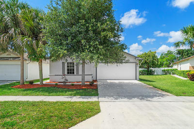 West Palm Beach Single Family Home For Sale: 6036 Azalea Circle