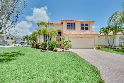 Boynton Beach Single Family Home For Sale: 7692 Colony Lake Drive