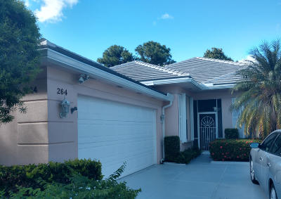Port Saint Lucie Single Family Home For Sale: 264 NW Bentley Circle
