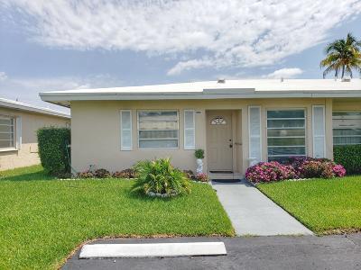 Boca Raton Single Family Home For Sale: 8743 Bella Vista Drive