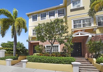 Delray Beach Townhouse For Sale: 290 NE 5th Avenue #13
