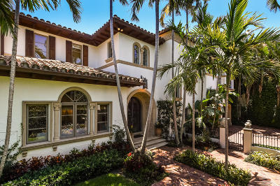 Palm Beach FL Single Family Home For Sale: $7,995,000