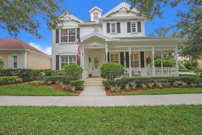 Jupiter Single Family Home For Sale: 112 Sycamore Drive