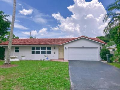 Boca Raton Single Family Home For Sale: 846 NW 7th Street