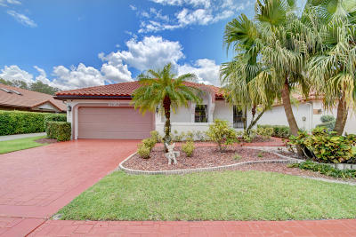Boca Raton Single Family Home For Sale: 10352 Sunset Bend Drive