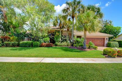 Boca Raton Single Family Home For Sale: 11140 Boca Woods Lane