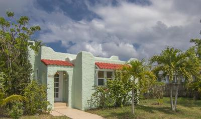 Lake Worth Single Family Home For Sale: 314 S L Street