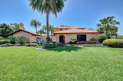 Boynton Beach Single Family Home For Sale: 12010 Lake Drive