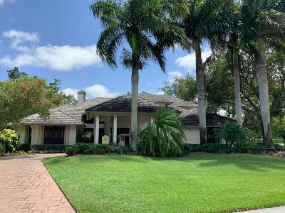 Boynton Beach Single Family Home For Sale: 4834 S Lake Drive