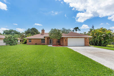 Palm Beach Gardens Single Family Home For Sale: 8784 Virginia Avenue
