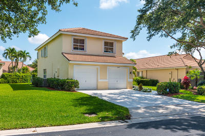 Lake Worth Single Family Home For Sale: 6299 Grand Cypress Circle