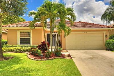 Lake Worth Single Family Home For Sale: 6296 Barton Creek Circle
