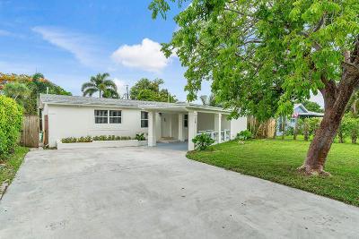 Boynton Beach Single Family Home For Sale: 126 W Ocean Drive