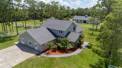 Loxahatchee Groves Single Family Home For Sale: 13346 Casey Road