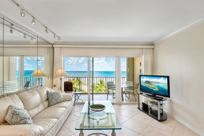 Highland Beach Condo For Sale: 3101 S Ocean Boulevard #704