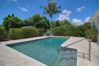 Lake Worth Single Family Home For Sale: 1519 14th Avenue