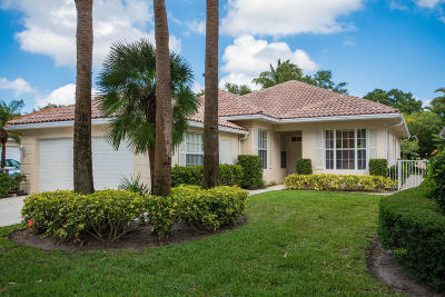 Palm Beach Gardens Single Family Home For Sale: 311 Kelsey Park Circle