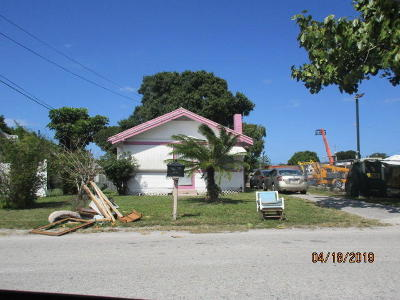 Fort Pierce Single Family Home For Sale: 816 Dayman Avenue