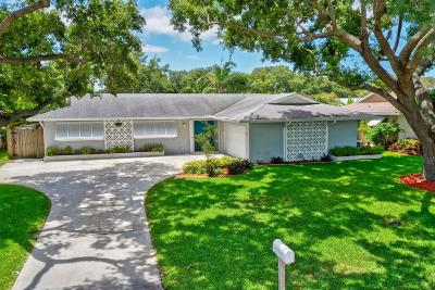 Palm Beach Gardens Single Family Home For Sale: 4106 Jonquil Circle S