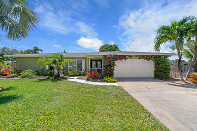 Lake Worth Single Family Home For Sale: 2615 Duke Court