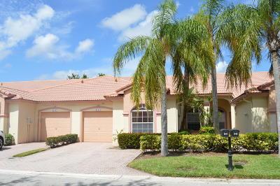 Boca Raton Single Family Home For Sale: 21111 Via Solano