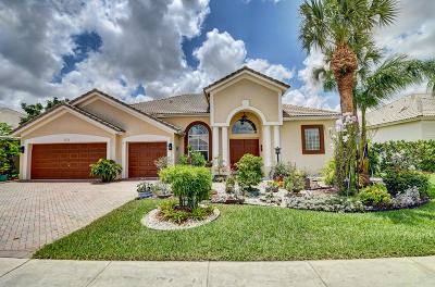Boynton Beach Single Family Home For Sale: 7272 Brunswick Circle