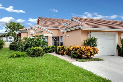 Boynton Beach Single Family Home For Sale: 5554 Royal Lake Circle