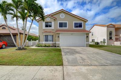 Boca Raton Single Family Home For Sale: 10396 Sunstream Lane