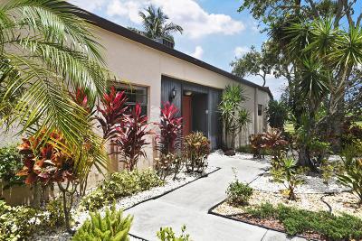 Boca Raton Single Family Home For Sale: 9306 Vista Del Lago #B
