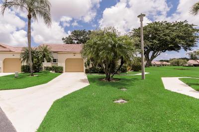 Boynton Beach Single Family Home For Sale: 5915 Parkwalk Circle W