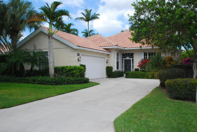 Palm Beach Gardens Single Family Home For Sale: 243 Kelsey Park Circle