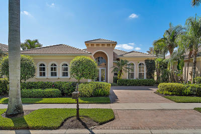 Palm Beach Gardens Single Family Home For Sale: 322 Vizcaya Drive