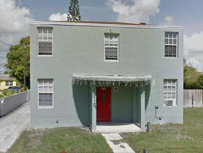 West Palm Beach Multi Family Home For Sale: 5107 Flagler Drive