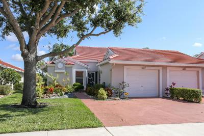 Boynton Beach Single Family Home For Sale: 6137 Brightwater Terrace
