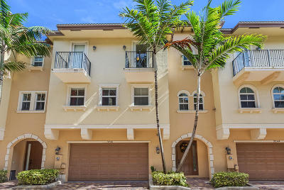 Pompano Beach Townhouse For Sale: 3246 NE 13 Street
